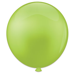 Mega ballon limoengroen