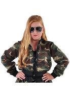 Camouflage jasje meisjes